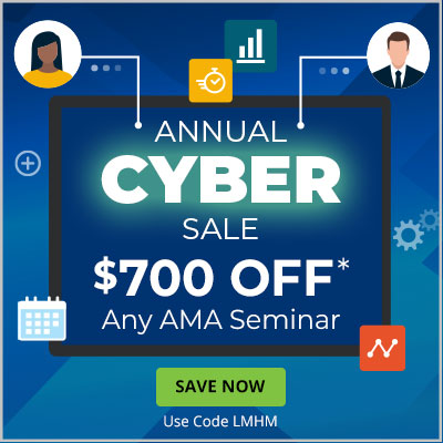 Save $700 on AMA Seminars